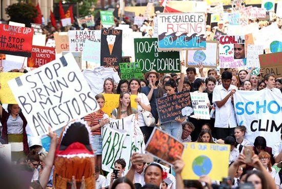 adolescent protesters
